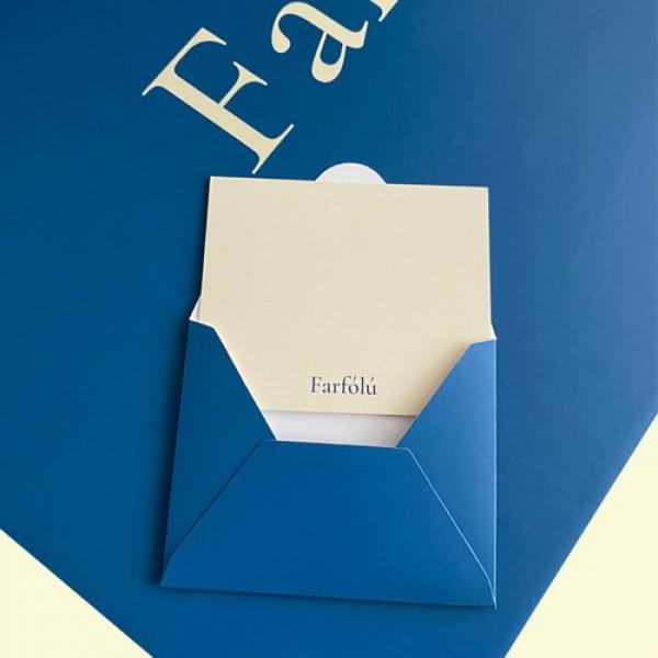 Tebrik Kartı ve Zarfı