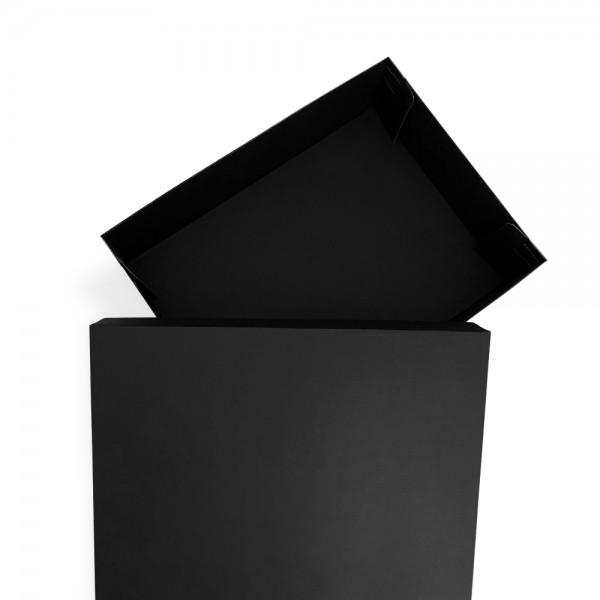 40x30x10 cm Siyah Kargo Kutusu